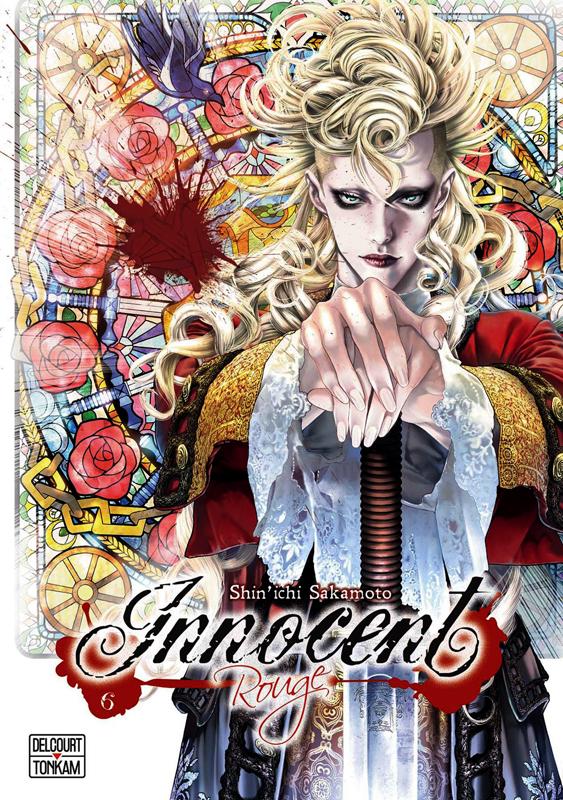 Innocent Rouge T6, manga chez Delcourt Tonkam de Sakamoto