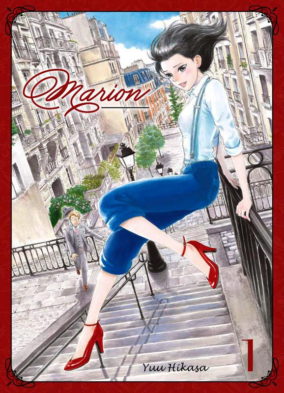 Marion T1, manga chez Komikku éditions de Hikasa