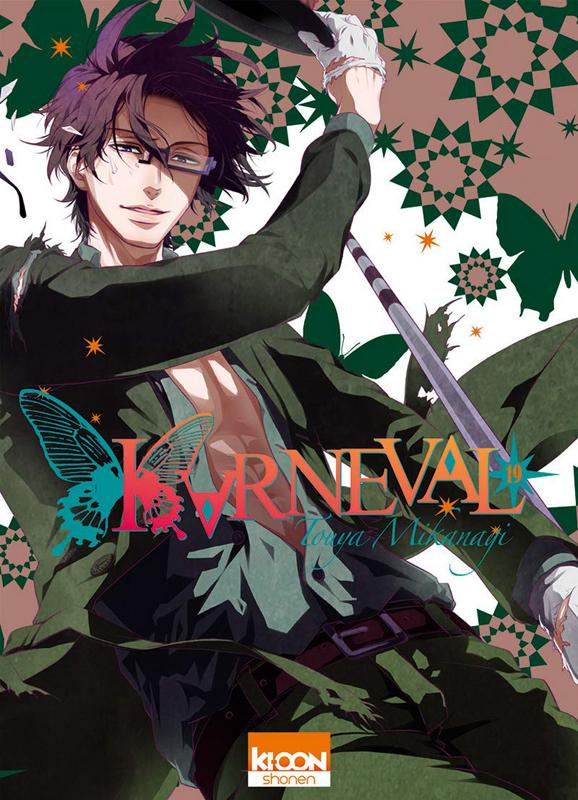 Karneval T19, manga chez Ki-oon de Mikanagi