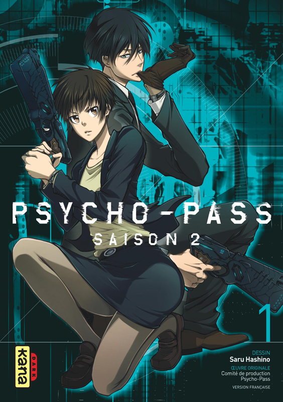 Psycho-pass Saison 2 T1, manga chez Kana de Hashino