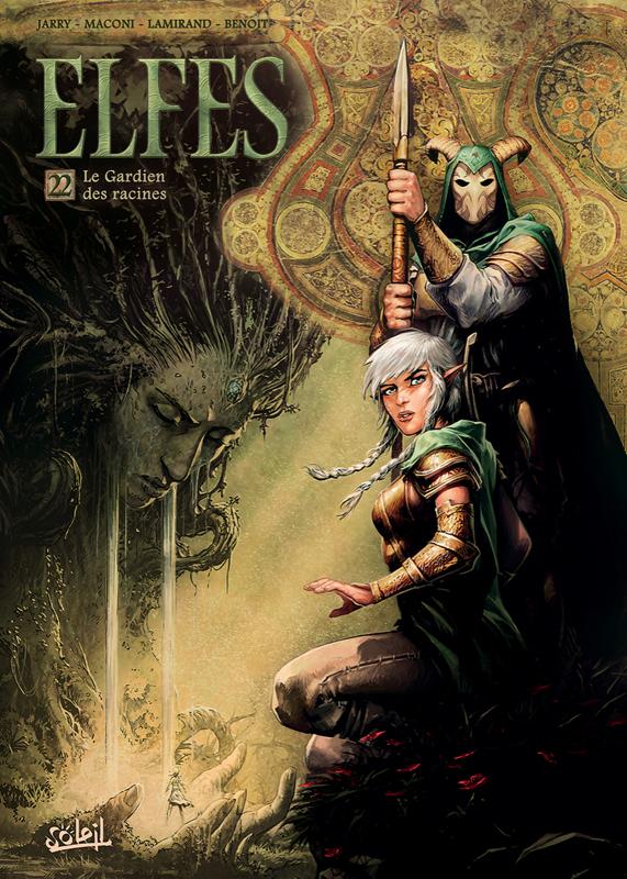 Elfes – cycle Les elfes sylvains, T22 : Le Gardien des racines (0), bd chez Soleil de Jarry, Maconi, Benoît, Lamirand, Digikore studio