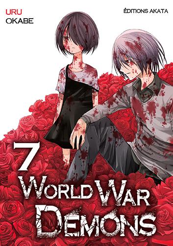 World war demons T7, manga chez Akata de Okabe