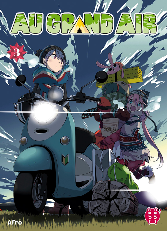 Au grand air T3, manga chez Nobi Nobi! de Afro