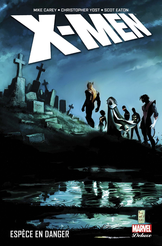 X-Men : Espèce en danger (0), comics chez Panini Comics de Yost, Gage, Carey, Di Vito, Grummet, Eaton, Perkins, Bagley, d' Armata, Trevino, Silvestri