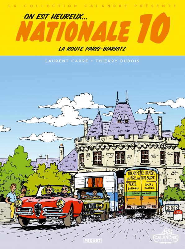 Nationale 10, bd chez Paquet de Carré, Dubois