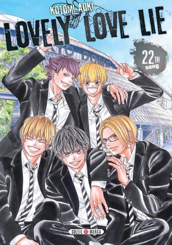 Lovely love lie T22, manga chez Soleil de Aoki