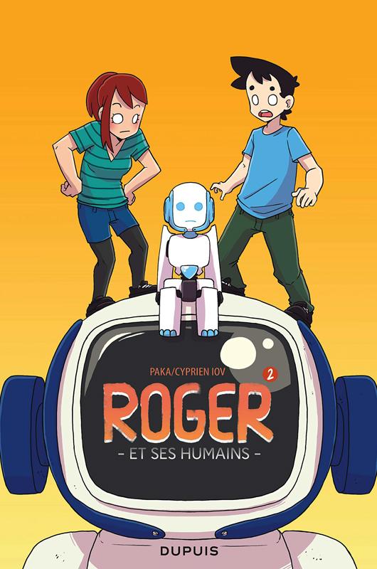 Roger et ses humains T2, bd chez Dupuis de Cyprien, Paka