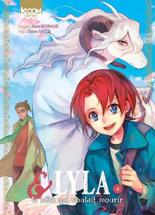 Lyla & la bête qui voulait mourir T4, manga chez Ki-oon de Konami, Saita