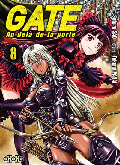 Gate - Au-delà de la porte T8, manga chez Ototo de Yanai, Sao