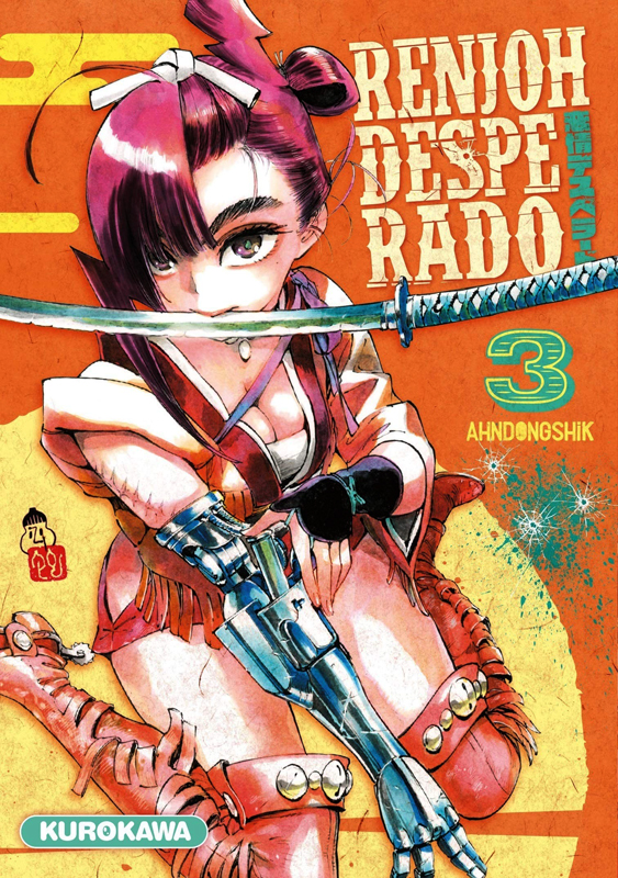 Renjoh desperado T3, manga chez Kurokawa de Dongshik