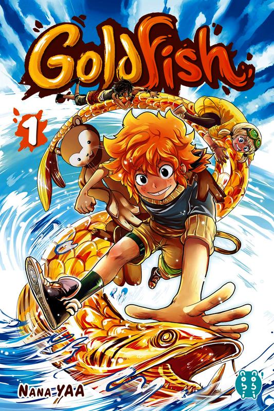 Goldfish T1, manga chez Nobi Nobi! de Yaa