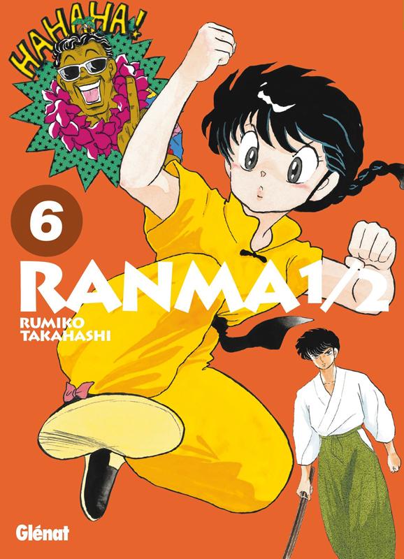 Ranma ½ T6, manga chez Glénat de Takahashi
