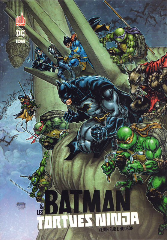 Batman et les Tortues Ninjas  T2 : Venin sur l'Hudson (0), comics chez Urban Comics de Tynion IV, Ferrier, Williams II, Colwell