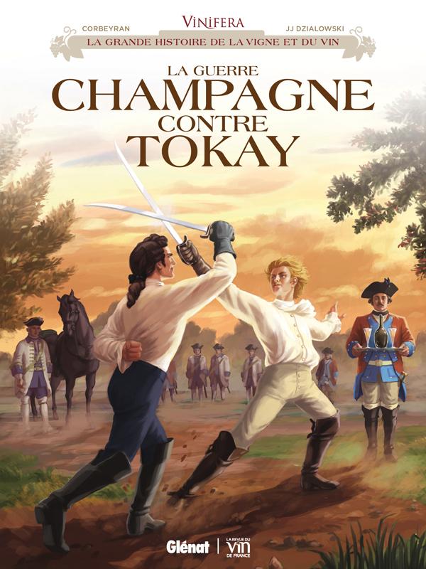 Vinifera : La Guerre Champagne contre Tokay (0), bd chez Glénat de Corbeyran, Dzialowski, Minte