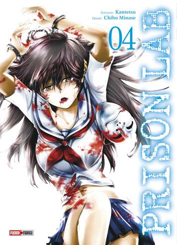 Prison lab T4, manga chez Panini Comics de Kantetsu, Minase
