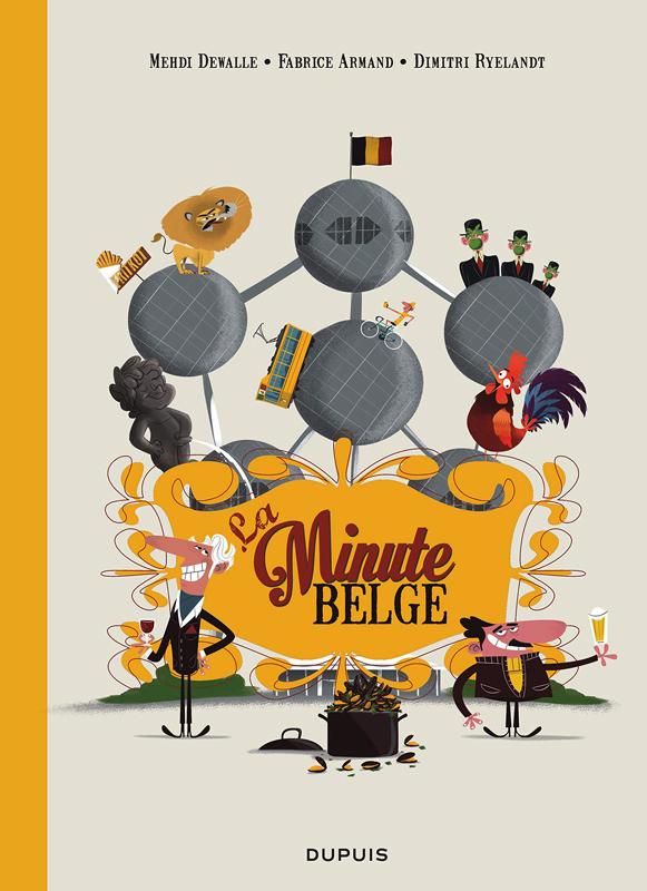 La Minute belge, bd chez Dupuis de Ryelandt, Armand, Dewalle