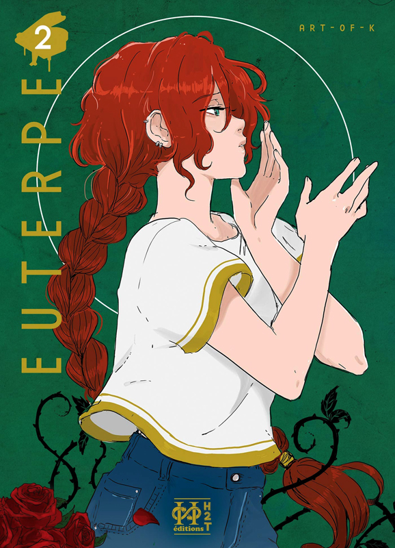 Euterpe T2, manga chez H2T de Art of K