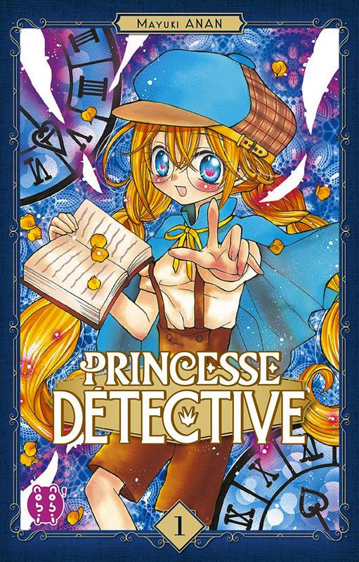 Princesse détective T1, manga chez Nobi Nobi! de Anan