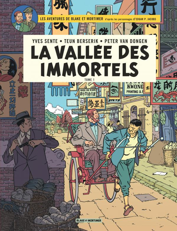 Blake & Mortimer T25 : La vallée des immortels (0), bd chez Blake et Mortimer de Sente, Van Dongen, Berserik