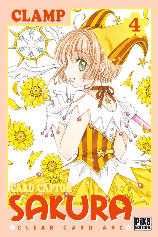 Card Captor Sakura - Clear card arc T4, manga chez Pika de Clamp