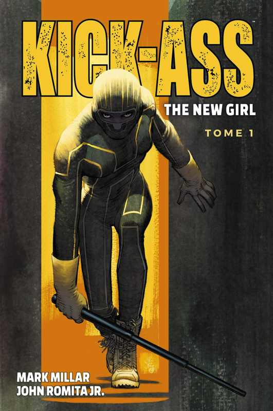 Kick Ass The new girl  T1, comics chez Panini Comics de Millar, Romita Jr, Sotelo, Steigerwald