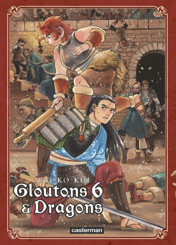 Gloutons & dragons T6, manga chez Casterman de Kui