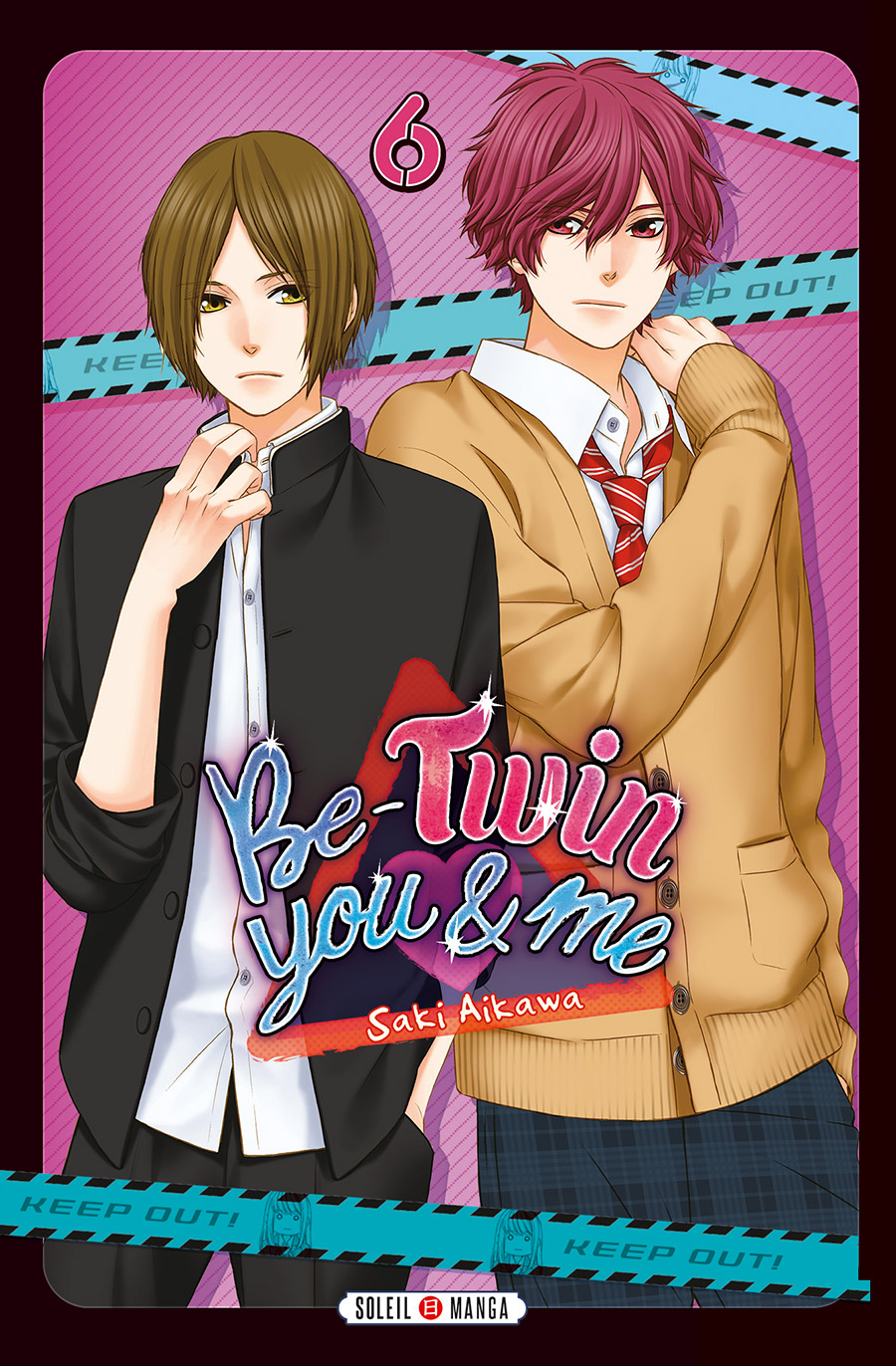Be-twin you & me T6, manga chez Soleil de Aikawa