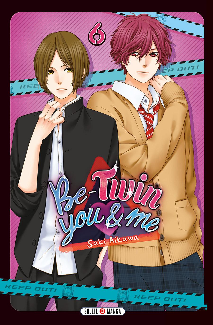 Be-twin you & me T6, manga chez Soleil de Aikawa