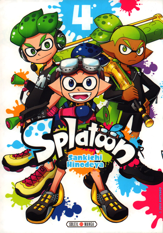 Splatoon T4, manga chez Soleil de Hinodeya