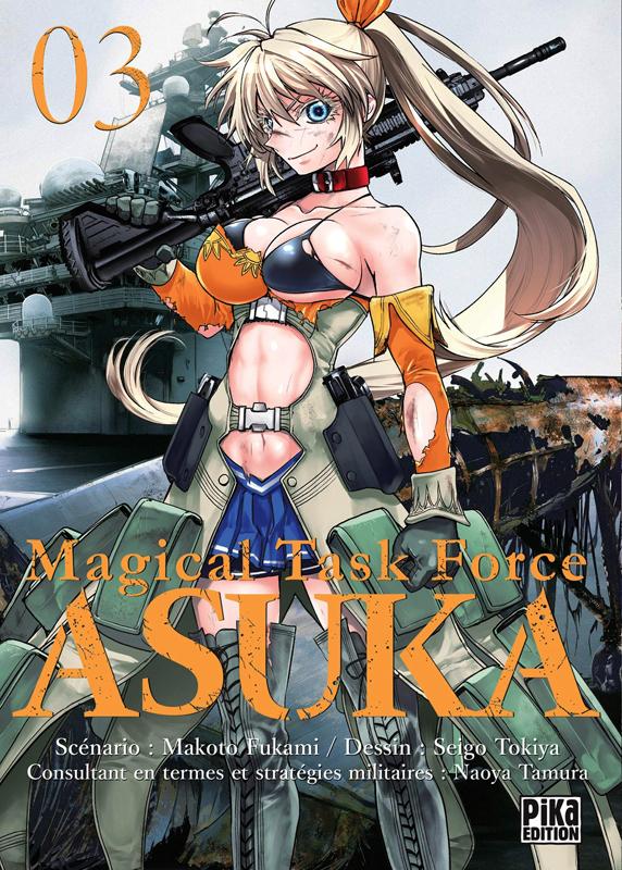 Magical task force Asuka T3, manga chez Pika de Fukami, Tokiya