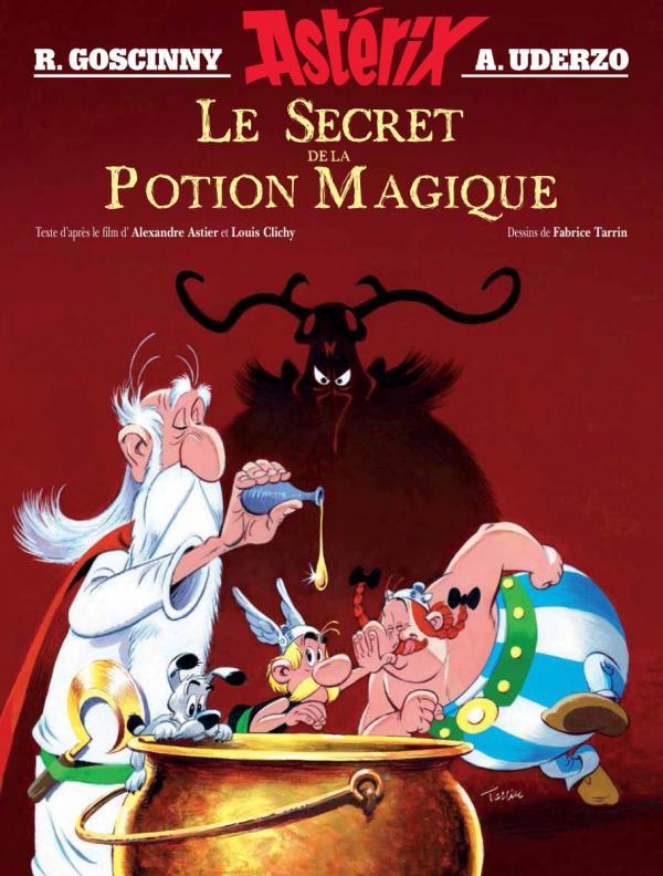 Astérix : Le secret de la potion magique (0), bd chez Albert René de Astier, Gay, Tarrin, Mébarki