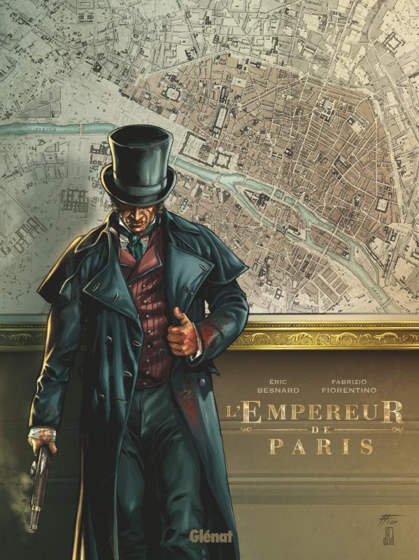 L'Empereur de Paris, bd chez Glénat de Besnard, Fiorentino