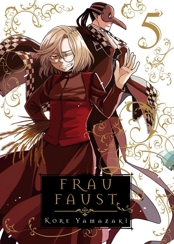 Frau Faust T5, manga chez Pika de Yamazaki