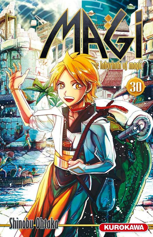 Magi, the labyrinth of magic  T30, manga chez Kurokawa de Ohtaka