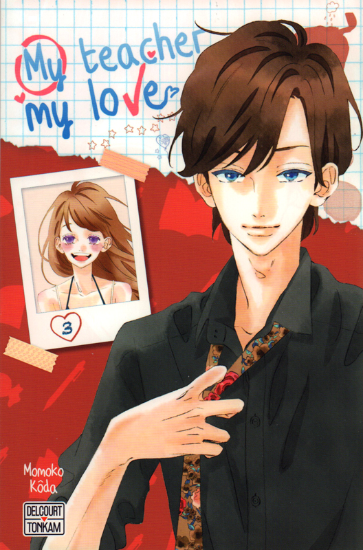 My teacher, my love T3, manga chez Delcourt Tonkam de Koda