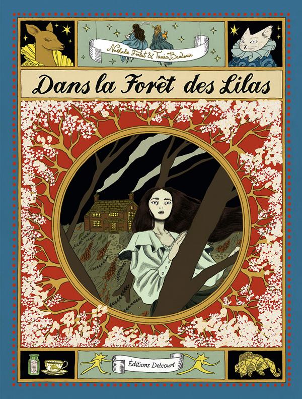 Dans la forêt des lilas, bd chez Delcourt de Ferlut, Baudouin
