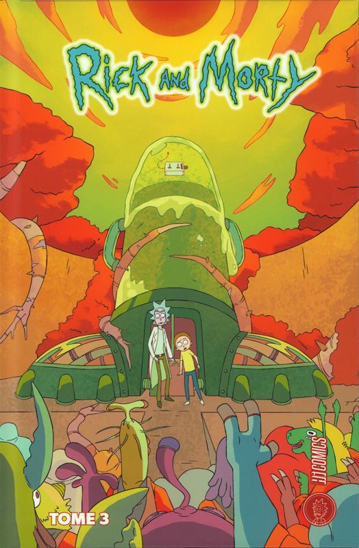 Rick and Morty T3, comics chez Hi Comics de Ribon, Fowler, Cannon, Ellerby, Hill