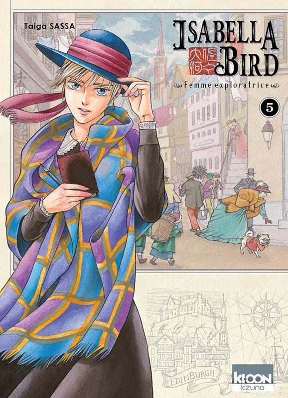 Isabella Bird, femme exploratrice T5, manga chez Ki-oon de Sassa