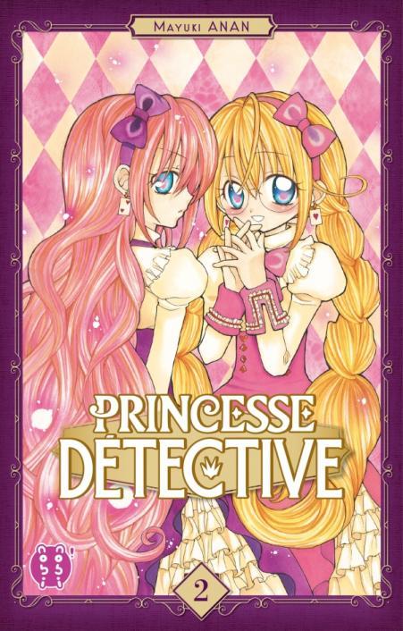 Princesse détective T2, manga chez Nobi Nobi! de Anan