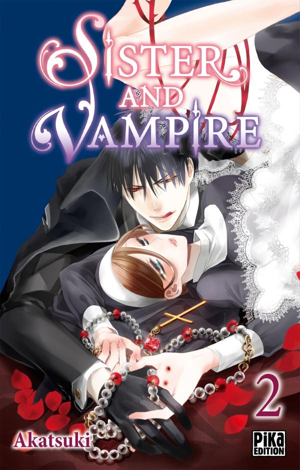 Sister and vampire  T2, manga chez Pika de Akatsuki
