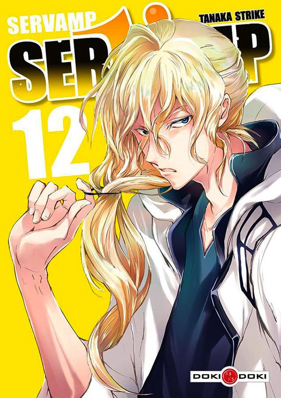Servamp T12, manga chez Bamboo de Strike