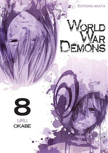 World war demons T8, manga chez Akata de Okabe