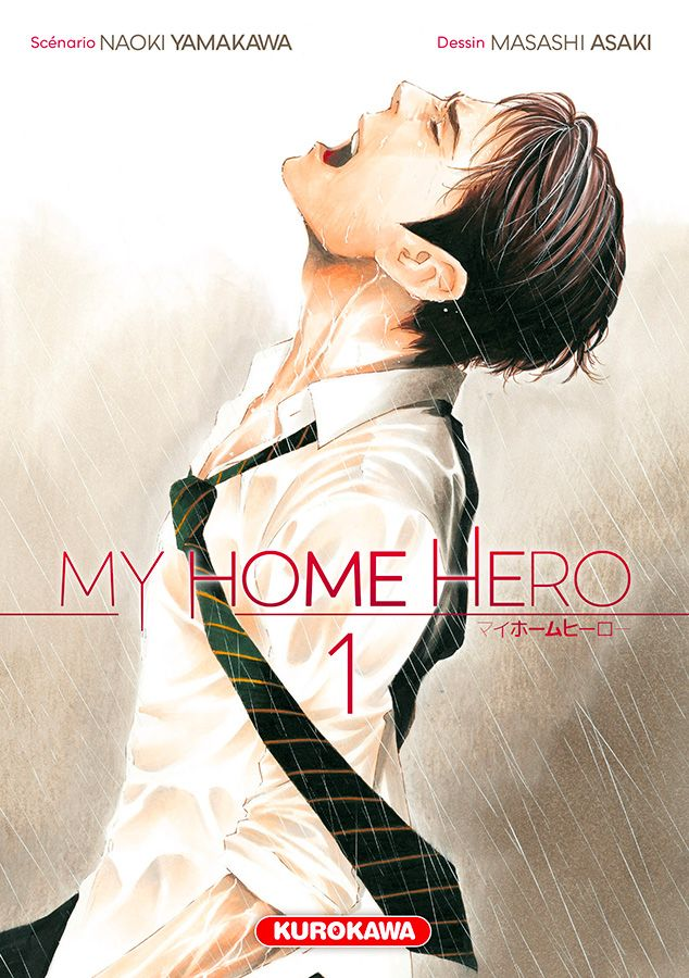 My home hero T1, manga chez Kurokawa de Yamakawa, Araki
