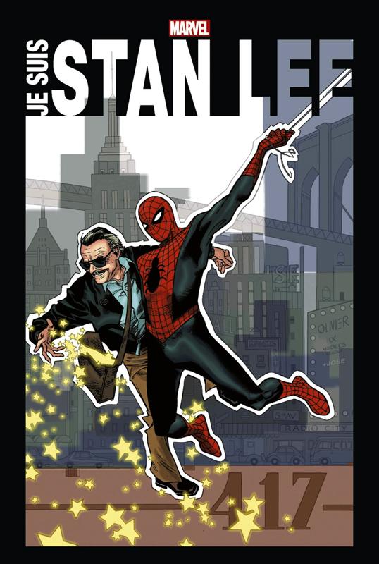 Je suis Stan Lee, comics chez Panini Comics de Lee, Severin, Kirby, Kane, Coipel, Timm, Colan, Goldberg, Ditko, Everett, Buscema