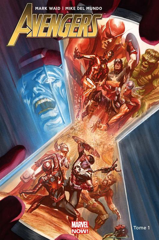 Avengers T1 : Guerre totale (0), comics chez Panini Comics de Waid, Del Mundo, D'Alfonso, Ross