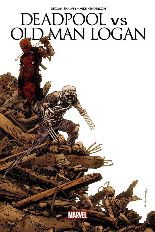 Deadpool VS Old Man Logan : Le clown et le vieux  (0), comics chez Panini Comics de Shalvey, Henderson, Loughridge
