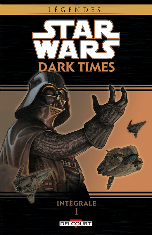 Star Wars  Dark Times T1, comics chez Delcourt de Stradley, Hartley, Harrison, Wheatley, Chuckry