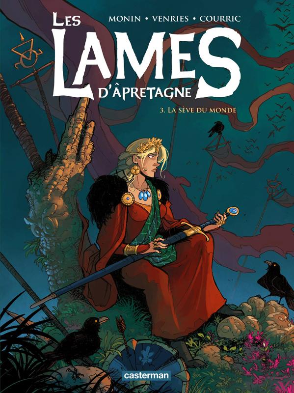 Les Lames d'Apretagne T3 : La Sève du monde (0), bd chez Casterman de Courric, Venries, Monin