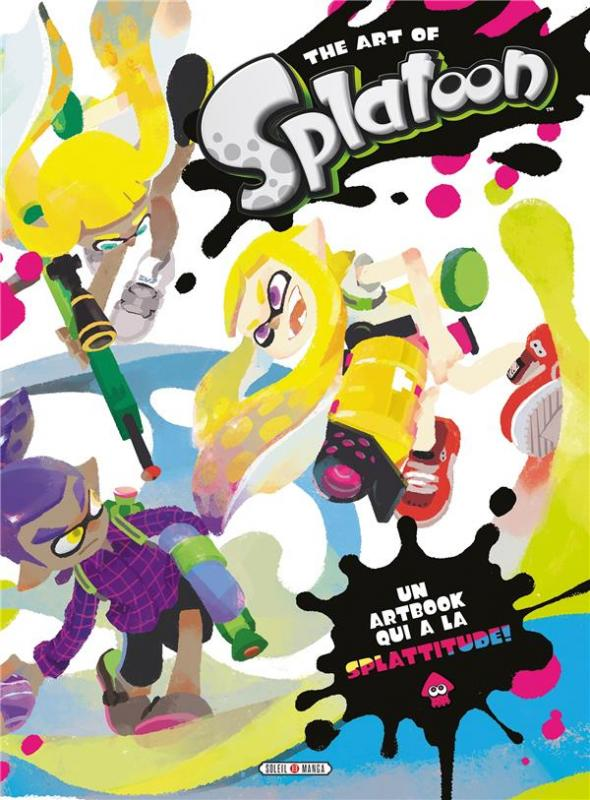 Splatoon : The art of Splatoon (0), manga chez Soleil de Nintendo