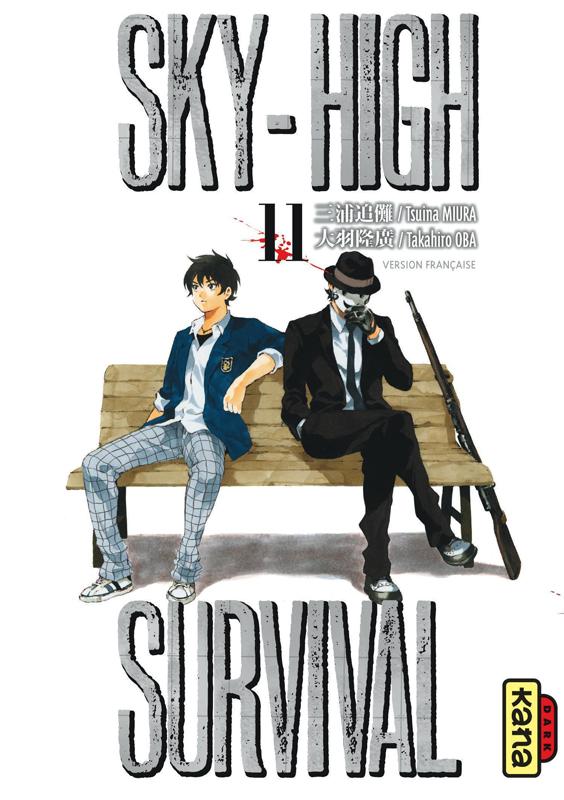 Sky-high survival T11, manga chez Kana de Miura, Oba